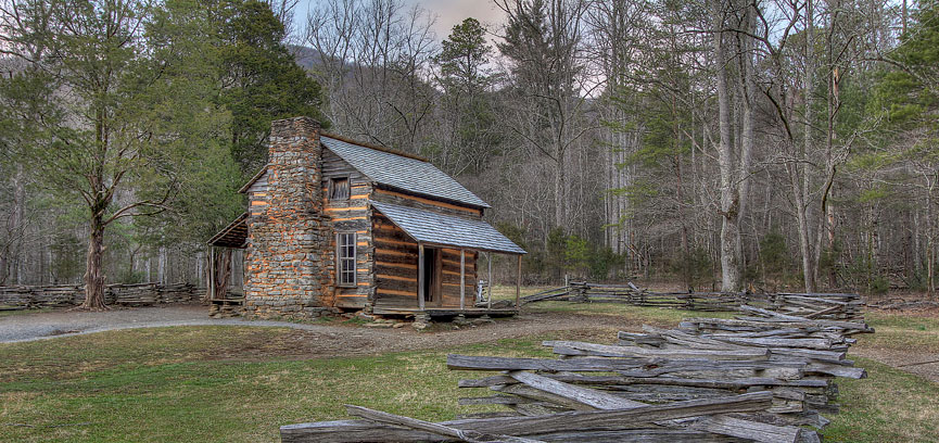 John Oliver Cabin Cades Cove Great Smoky Mountains