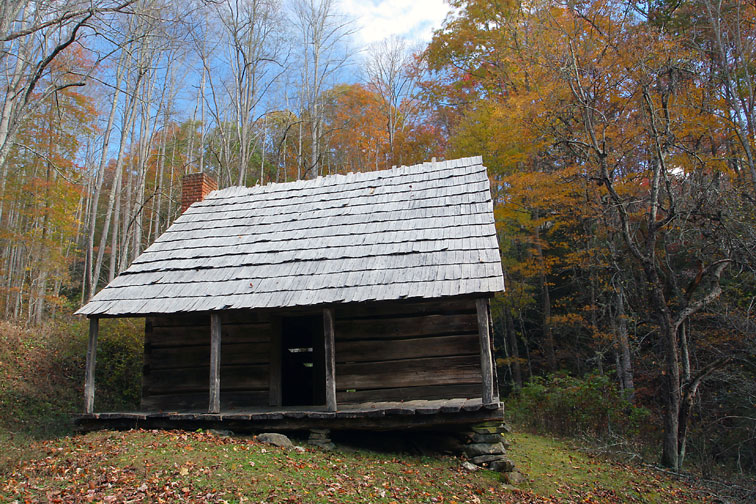 Little Lost Valley Cabin: Great Smoky Mountains