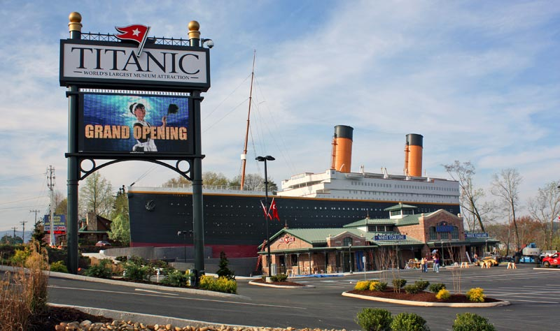 sevierville tn fire with 2013 Exhibits Titanic Pigeon Forge on Johnny as well Directions besides A Haunting Look Inside The Lusitania moreover Gatlinburg ImageGallery1 likewise 36099234488407697.
