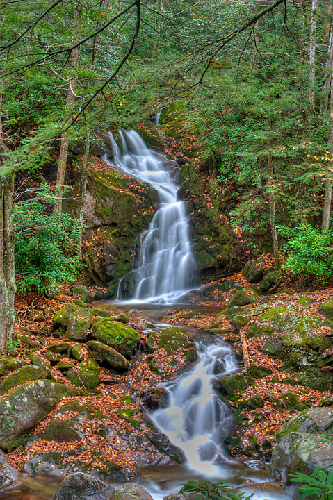 Mouse Creek Falls Great Smoky Mountains
