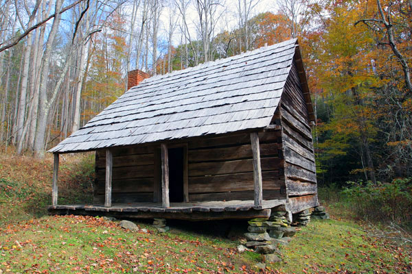 Hannah Cabin | Cataloochee Valley | Great Smoky Mountains