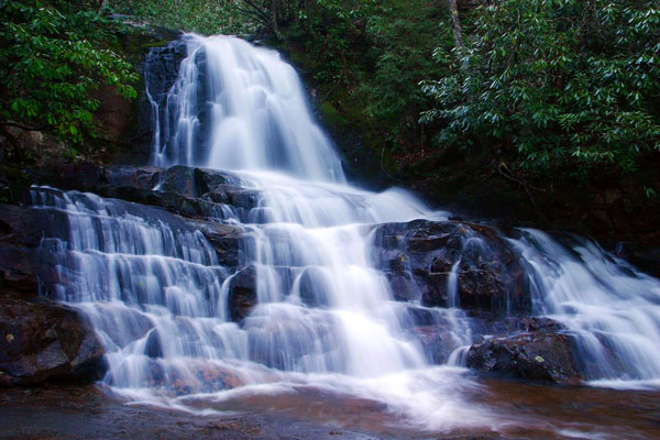 Laurel Falls Smoky Mountain Waterfalls Great Smoky